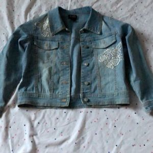 Other - Girls jean jacket size 7/8